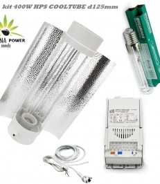 cultiver cannabis LAMPE HPS 400W COOL TUBE kit complet