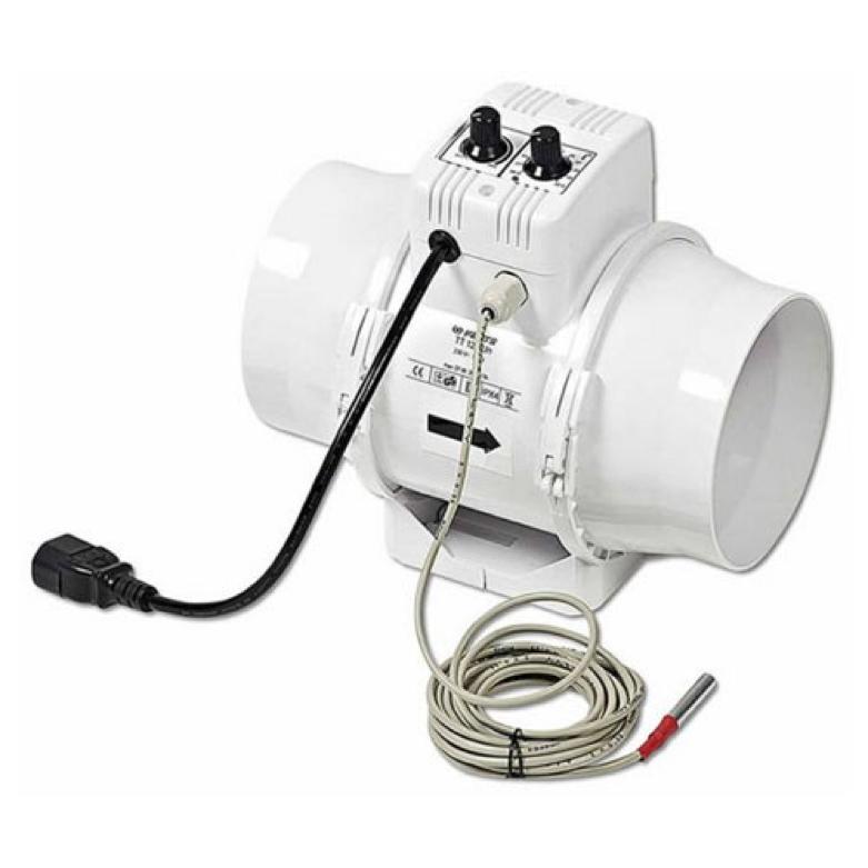 Extracteur dair industriel silencieux id e for Extracteur pour salle de bain