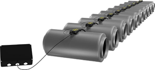 extracteur-d-air-ligne-de-Q-MAX-branchés-en-série-avec-moniteur-de-contrôle-associé